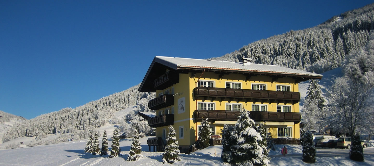 Pension Viehhof, Winterurlaub in Wagrain-Kleinarl
